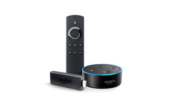 Fire TV Stick Bundle with Echo Dot ($39.98, originally $79.98; amazon.com)