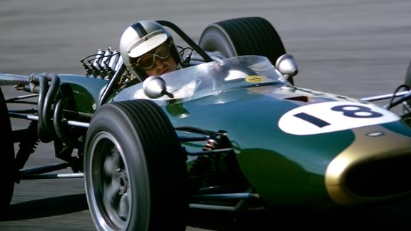Initially using a BT19 (almost identical to the BT20,) Brabham won four grands prix to take his third title and become the first -- and in all probability -- the only man to win a championship in a car bearing his own name.