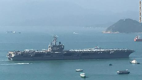 Us Aircraft Carrier Allowed To Visit Hong Kong