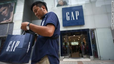 The Gap and the Old Navy are split