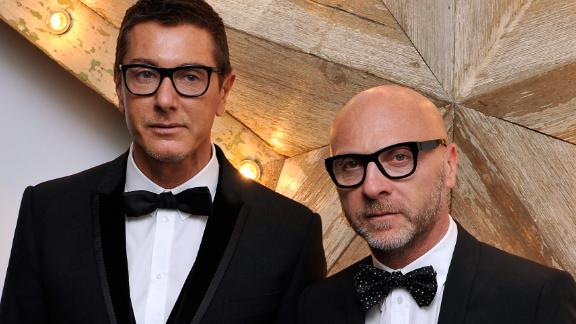 LONDON, ENGLAND - JULY 14:  (L-R) Stefano Gabbana and Domenico Dolce attend a party for Dolce And Gabbana hosted by Net-a-Porter at Westfield on July 14, 2011 in London, England.  (Photo by Gareth Cattermole/Getty Images)