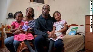 Telli Afrik and his family are currently living in their sixth hostel after being unable to afford their privately rented home.