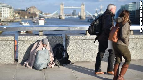 One in 200 people now homeless in Britain as crisis deepens
