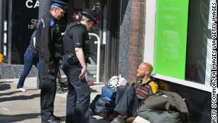 One in every 53 people living in London is homeless, according to figures published by Shelter.