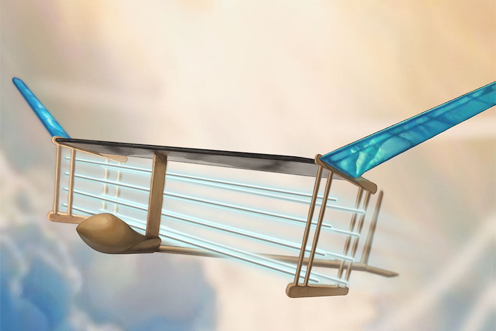 Mit Ion Plane Has No Moving Parts Doesnt Need An Engine To Fly Airplane Wing Theory Cnn Travel