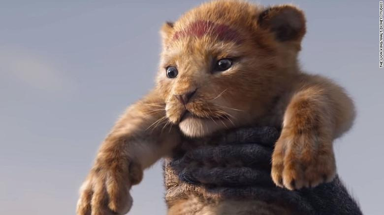 lion king first look released cnn