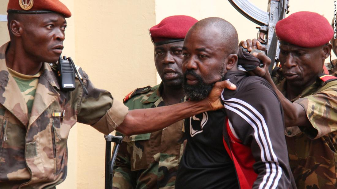 'Rambo' CAR militia leader charged with war crimes and crimes against humanity