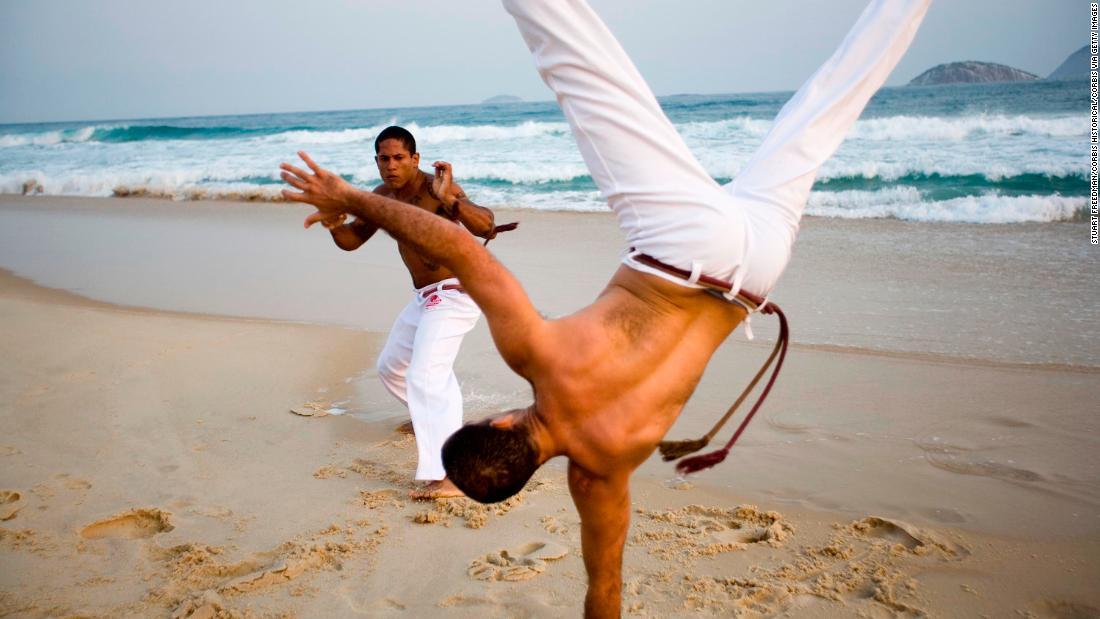 Google Doodle honors capoeira master Mestre Bimba
