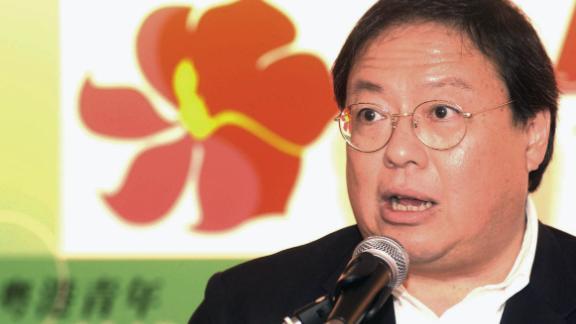 Patrick Ho Chi-ping, former Secretary for Home Affairs of Hong Kong, in Hong Kong, China.