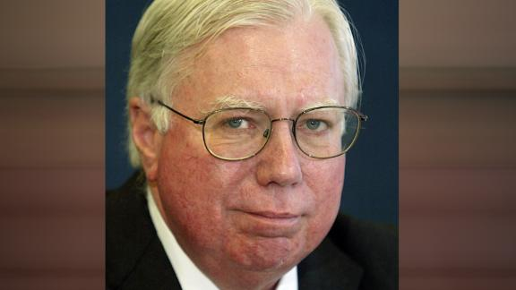 WASHINGTON - OCTOBER 14: Jerome Corsi, co-author of 'Unfit For Command,' speaks during a news conference at the National Press Club October 14, 2004 in Washington, DC. Corsi claimed that Democratic presidential nominee U.S. Sen. John Kerry (D-MA) has received money from radical Iranian clerics who are opposed to democracy in Iran. (Photo by Matthew Cavanaugh/Getty Images)