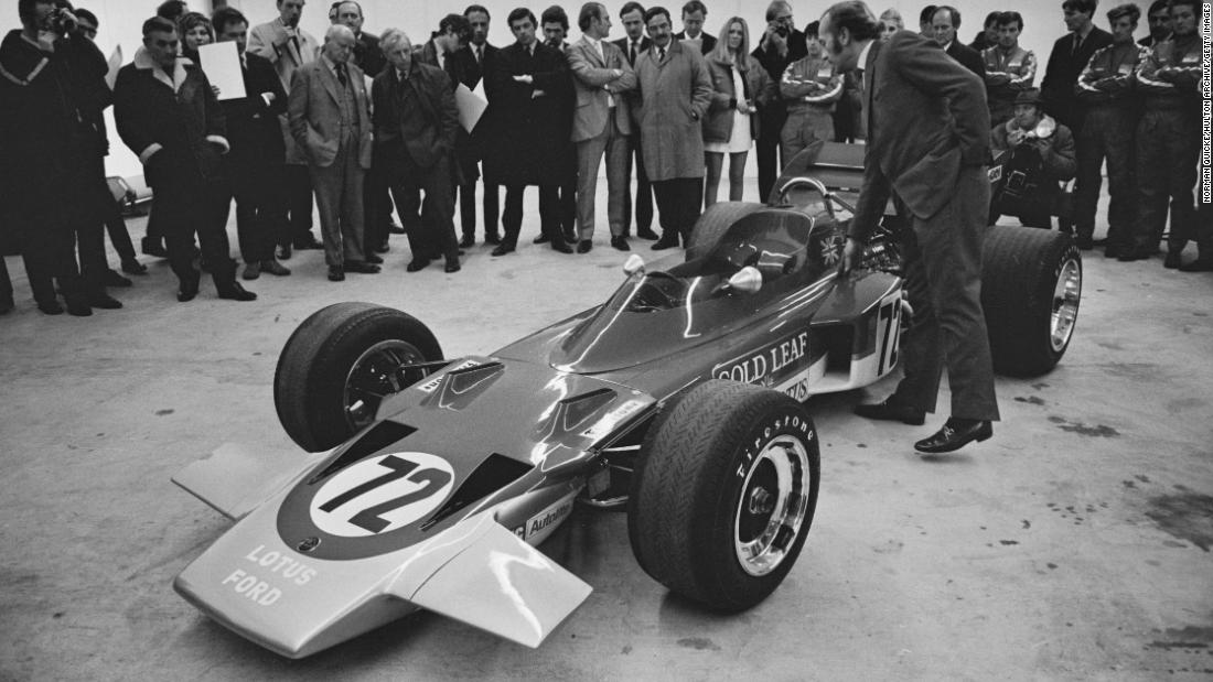 The basic profile of F1 cars was altered forever in 1970 when Colin Chapman produced the Lotus 72. Amazingly, the Lotus 72 continued to be raced by the works team and privateers into 1975, five years after its conception.