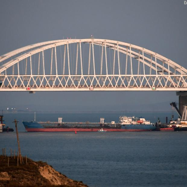 Ukraine says Russia opened fire on its naval vessels, seized them
