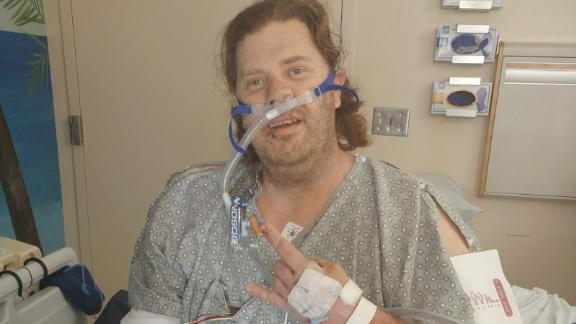 Patrick Smith, 41, spent the last eight days of his life in a hospital after being shot eight times.