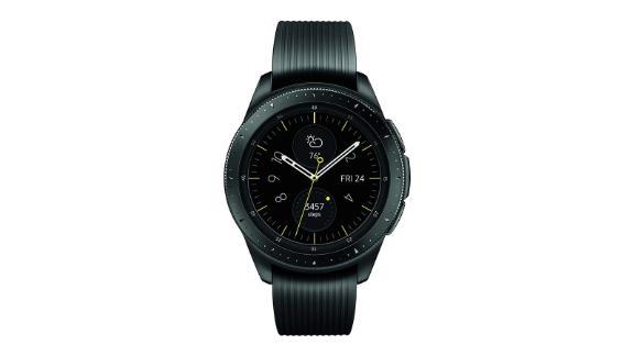 Samsung Galaxy Watch (42mm) Midnight Black ($259, originally $329.99; amazon.com)
