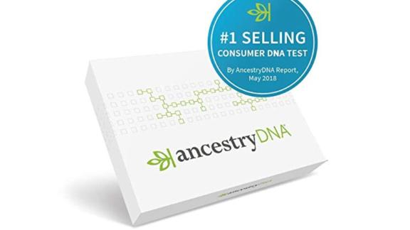 Ancestry DNA: Genetic Testing Ethnicity DNA kit ($49, originally $99; amazon.com)