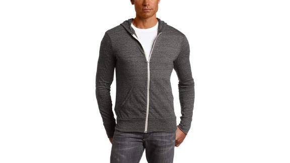 Alternative Men's Eco Zip Hoodie Sweatshirt ($13.20, originally $25.23; amazon.com)