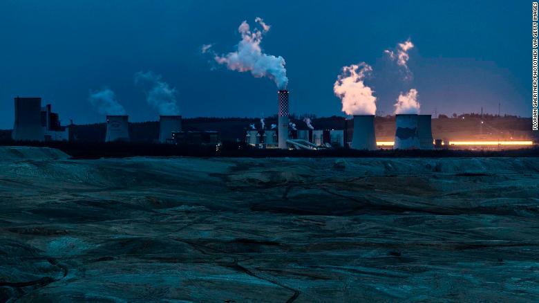 Электростанция на угле в Боготании, Польша.