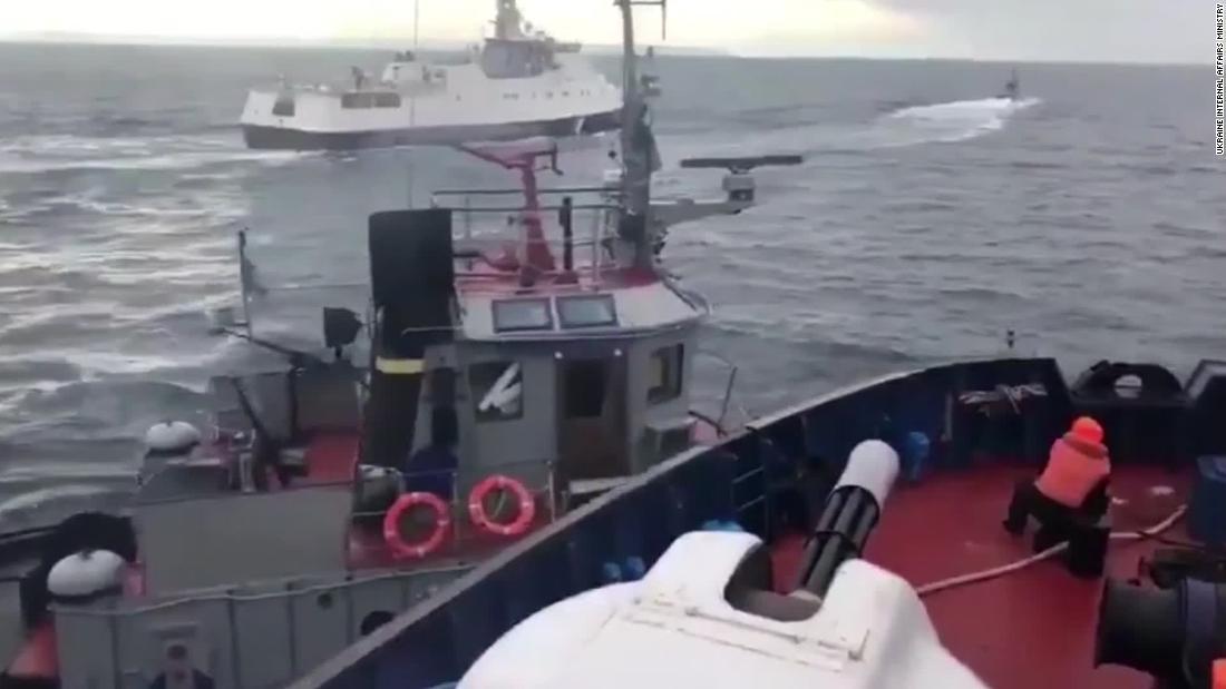 UN tribunal rules Russia must release Ukrainian sailors