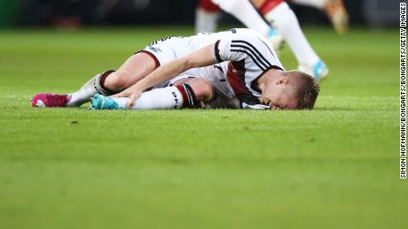Reus was forced to miss Germany's successful World Cup campaign in 2014.