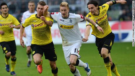 After being dropped by Dortmund, Reus made his name at Borussia Moenchengladbach.