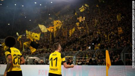 Reus has inspired Dortmund to the top of the Bundesliga and their Champions League group.