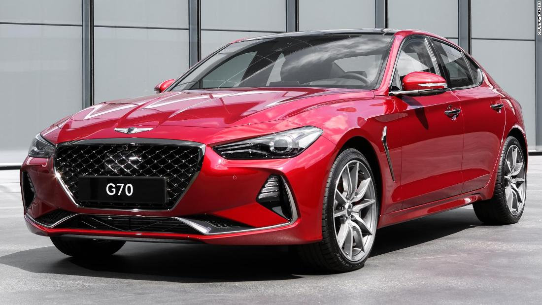 Hyundai S Genesis G70 Wins Car Of The Year Cnn