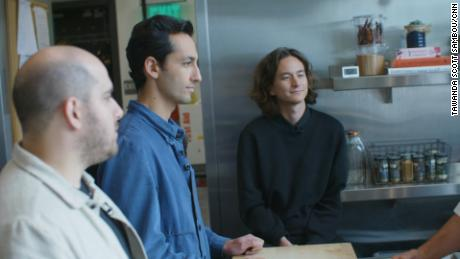 Sweetgreen cofounders [left to right] Nicolas Jammet, Jonathan Neman and Nathaniel Ru.