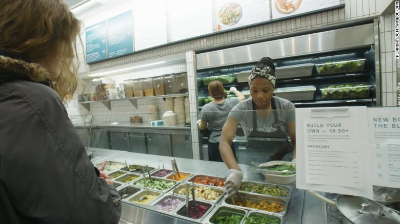 Sweetgreen operates 90 locations nationwide.