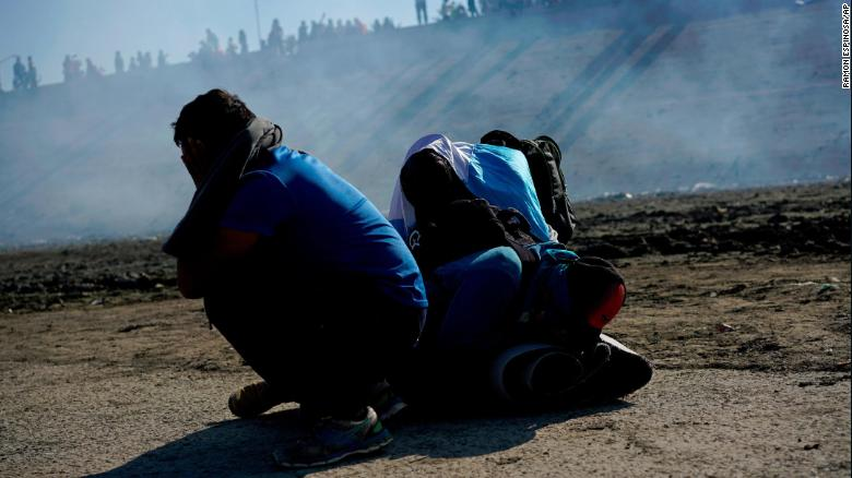 US fired tear gas to disperse crowds at border
