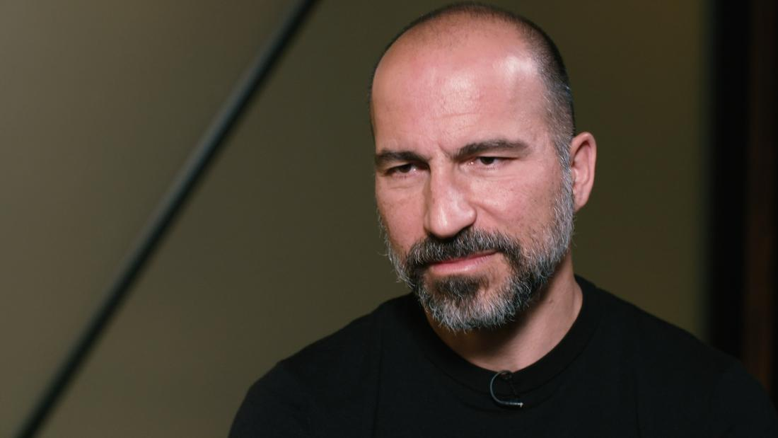 How Uber CEO Dara Khosrowshahi got comfortable with reinvention