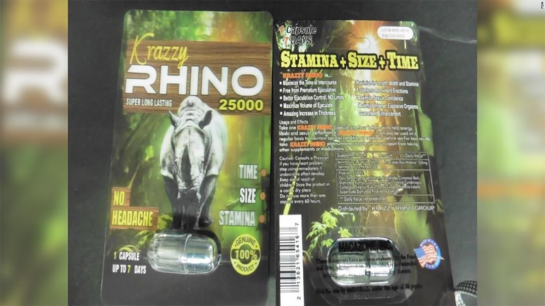 FDA Warns Against Use Rhino Male Enhancement Products