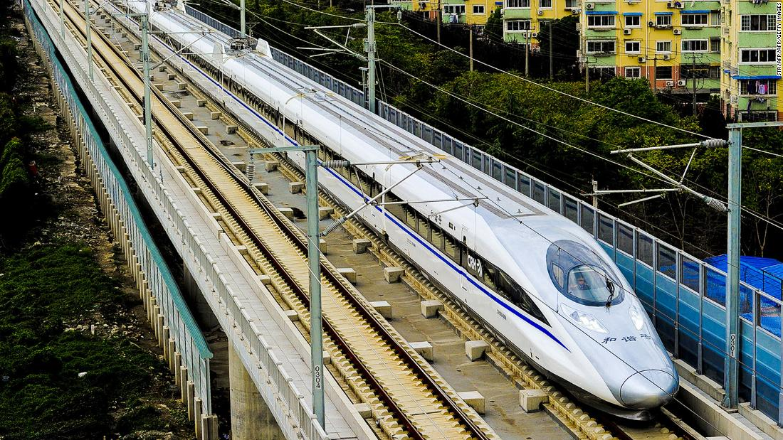 Why Trump wants you to be afraid of high speed trains