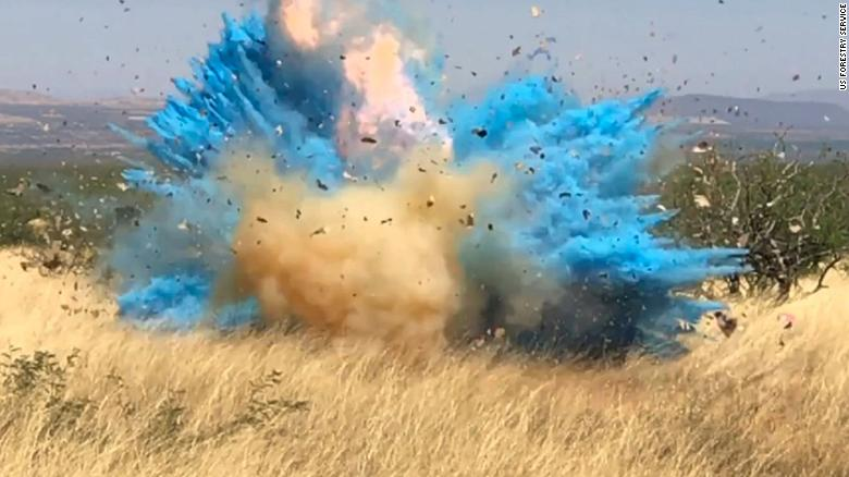 Woman who popularized the gender reveal party says enough already after latest wildfire