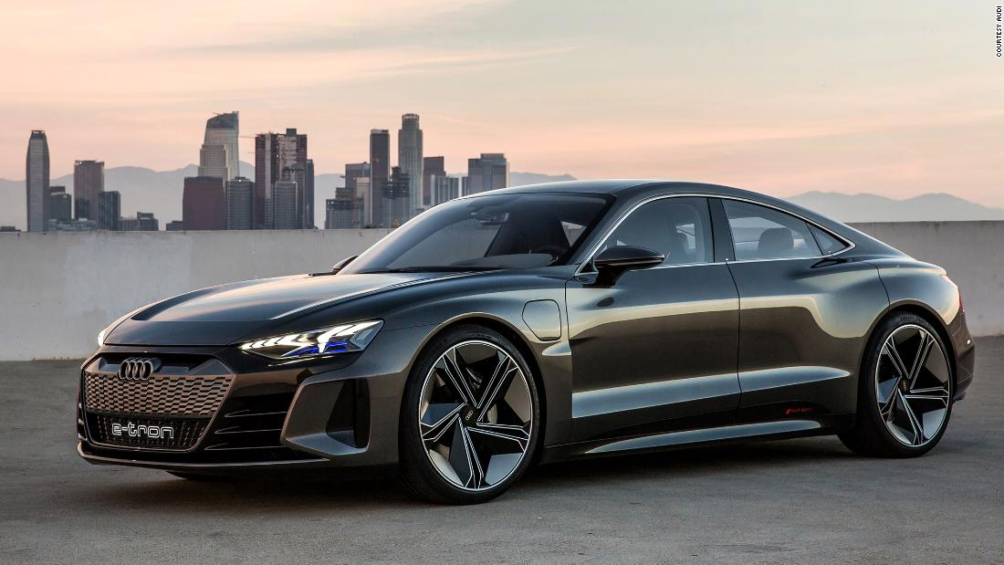 Audi reveals the E-Tron GT. Its new all-electric sports ...