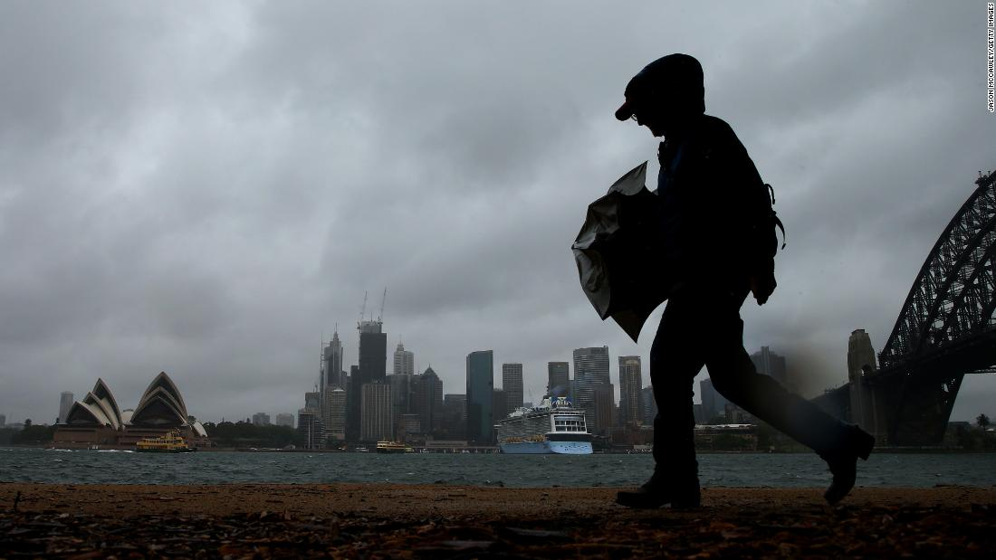Sydney weather city flooded by heaviest rainfall in years amid