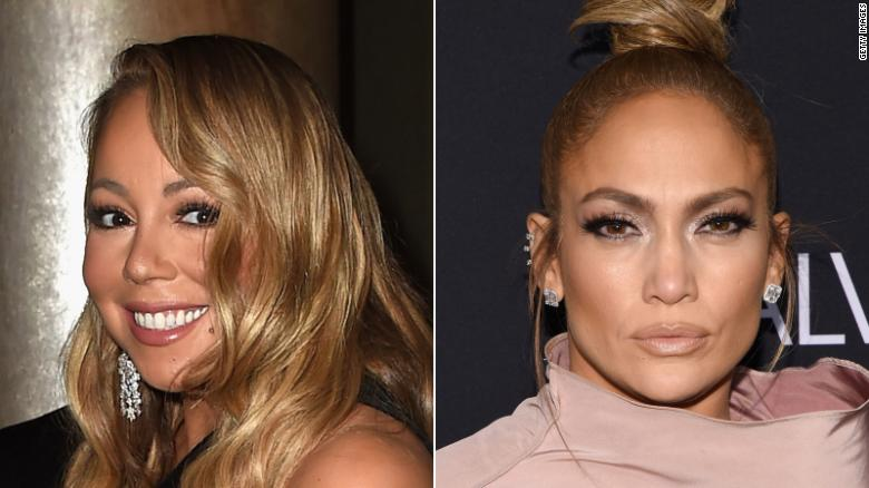 mariah carey s legendary jennifer lopez shade was her trying to be