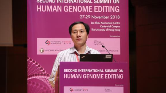 Chinese scientist He Jiankui claims he helped create the world