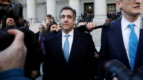 Justice Department investigating leak of confidential Michael Cohen bank records