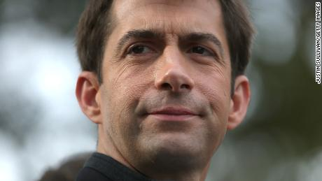 Sen. Tom Cotton, an Arkansas Republican