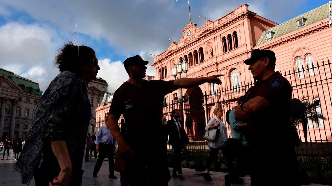 Argentina tightens security in Buenos Aires ahead of G20