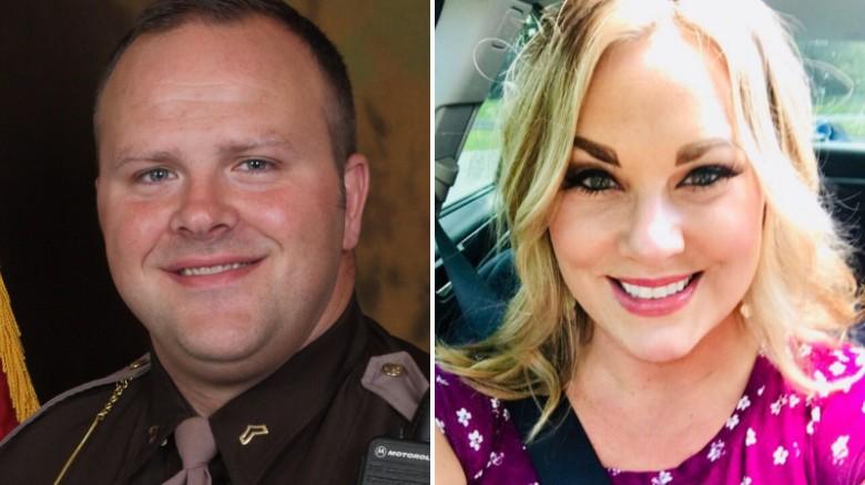 Sgt. Evan Love and Megan Nierman