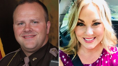Sgt. Evan Love and Megan Nierman
