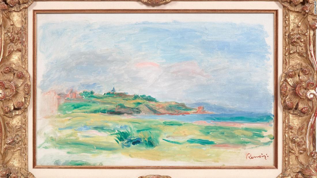 Renoir painting stolen from Austrian auction house - CNN Style