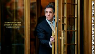 Michael Cohen believed he wold be pardoned