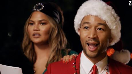 A Legendary Christmas.A Look At Legend And Teigen S Holiday Special
