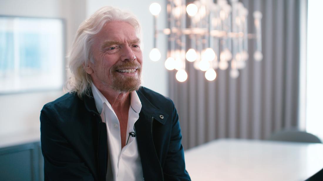 Branson talks Brexit, Saudi Arabia and peace in space