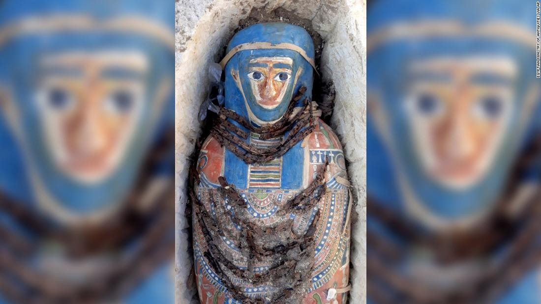Eight mummies discovered in Egypt