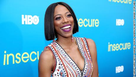 "Actress Yvonne Orji attends a block party celebrating HBO's new season of ""Insecure"" on July 15, 2017 in Inglewood, California.  (Photo by Randy Shropshire/Getty Images for HBO)"