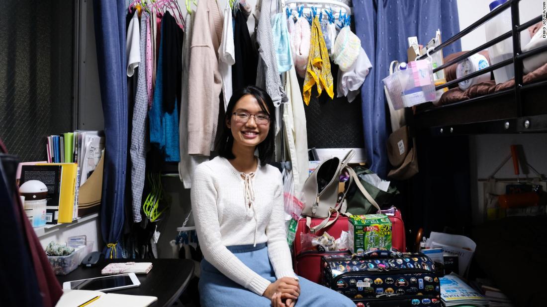 Вьетнамская студентка Линх Ньюген приехала в Японию, чтобы получить высшее образование.