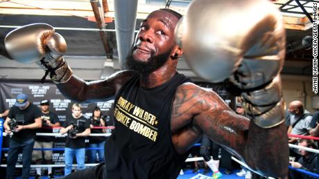 Deontay Wilder turned to boxing at 19 to pay for care for his daughter.
